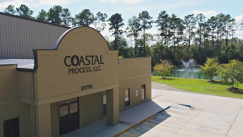 Coastal Process, Louisiana water treatment